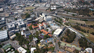 Herston is home to the RBWH and the QIMR Berghofer medical research facility.