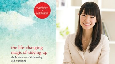 This decluttering craze began with Japanese professional organiser Marie Kondo.