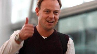 Johnson's joke involving former Neighbours star Jason Donovan raised a laugh.