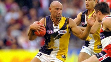 Peter Matera played 253 games for West Coast between 1990 and 2002. He  won the 1992 Norm Smith medal and was a five-time All-Australian.