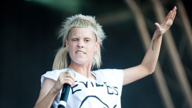 Reaching out: Die Antwoord member Yolandi Visser contacted Zheani Sparkes through Instagram.