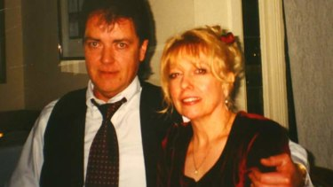 Executed: Terence Hodson and his wife, Christine.