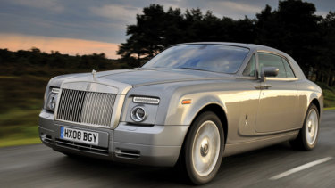 Rolls-Royce Phantom Coupe.