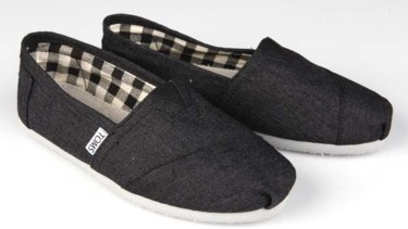 TOMS started off giving away one pair of shoes for every pair sold.