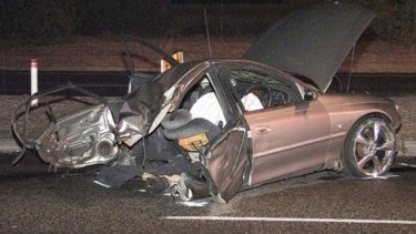 Three people died in the horrific crash, shortly after being involved in a high speed chase with police.  The state coroner is now investigating the incident.