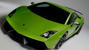 The car business leased out luxury vehicles including Lamborghinis.