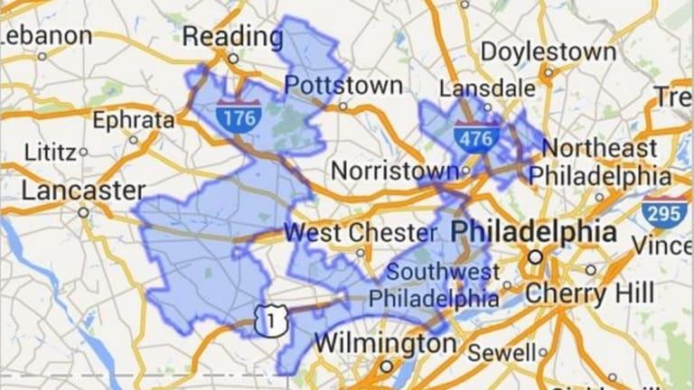 """Goofy kicking Donald Duck"": Pennsylvania's 7th congressional district."