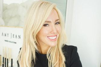 Celebrity brow stylist Amy Jean.
