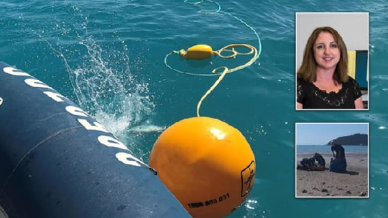 Justine Barwick (top right) and Hannah Papps were both attacked by sharks after Whitsunday Island attacks.