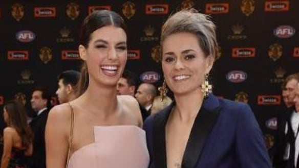 The best things that happened on the Brownlow red carpet