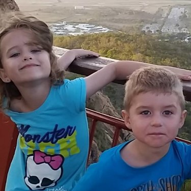 Nyobi and River Hinder were killed by their father at Mount Isa in 2015.