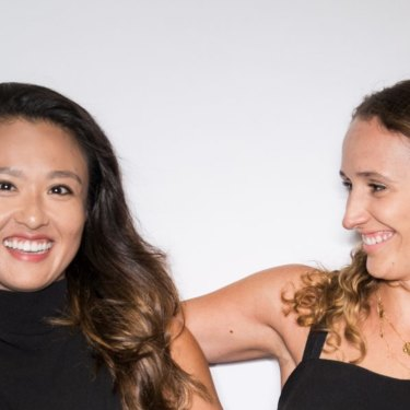 Vera Yan and Kati Santilli, founders of Nimble Activewear.