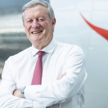 'It's now very much part of the growth engine of the Qantas group as a whole. It's been a great success,' says former Qantas chairman Leigh Clifford.