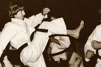 Glennon was also a karate teacher