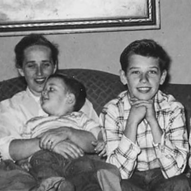 Joe Biden, second from right, is the eldest of four children.