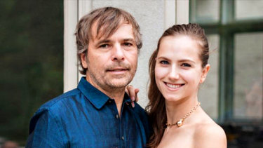 Former casino chief executive Rodney Baker and his wife, actress Ekaterina Baker.