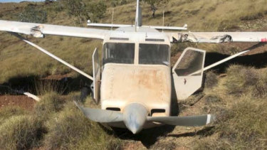 The Gippsland Aeronautics GA-8 Airvan crashed in remote bushland in WA's north west in May 2018.