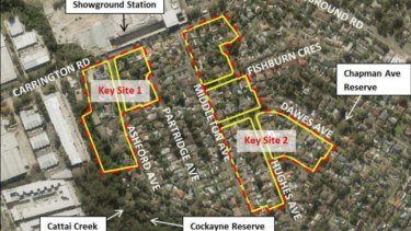 Thousands of dwellings are planned for the Showground station precinct in Castle Hill.