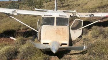 The Gippsland Aeronautics GA-8 Airvan crashed in remote bushland in WA's north west in May 2018.