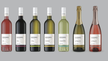 Edenvale's branding and packaging are as nice as ordinary wines', which helps you feel like you're having a treat.