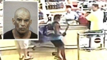 Mervyn Davidson attacked an Aldi cashier with a baseball bat in January 2017.