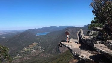 Aiia Maasarwe visited the Grampians National Park in Victoria's west in the first week of January.