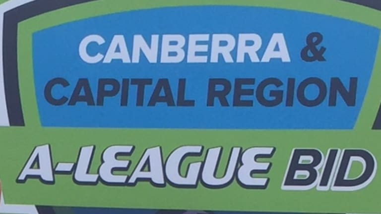 The Canberra A-League bid has partnered with the Wollongong Wolves.