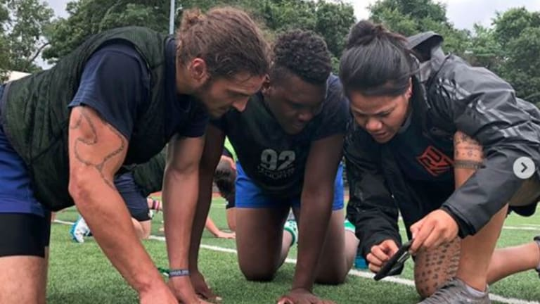'The game is exactly the same': Gender is no barrier for new assistant coach at Rugby United New York, Tiffany Faaee.