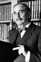 Science fiction writer H.G. Wells in 1935.