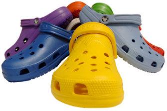 Crocs: a fashion crime.