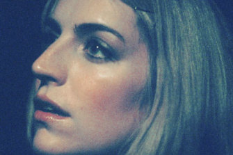 Sally Seltmann, pictured on the cover of 2010's Heart That's Pounding album, which she played  at the Lansdowne Hotel.