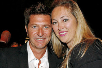 Wayne Cooper and Sarah Marsh are understood to be going their separate ways.