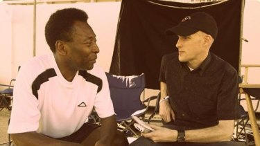 Grant Wahl interviews Pele for Sports Illustrated.