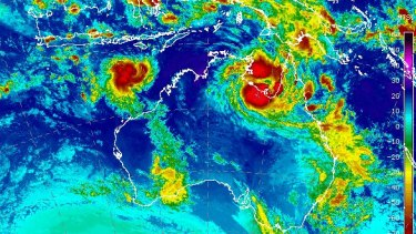 Tropical Cyclone Esther is expected to hit Queensland on Monday.