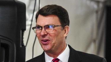 Former US ambassador to Australia John Berry.