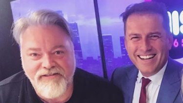 Will Kyle Sandilands pull another wedding day sickie when pal Karl Stefanovic ties the knot?