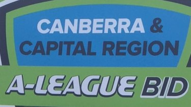 The Canberra A-League bid are one of the favourites ahead of the December 12 announcement.