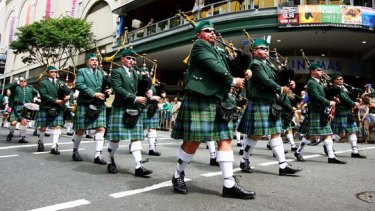 The St Patrick's Day Parade in Brisbane was given its marching orders this year.