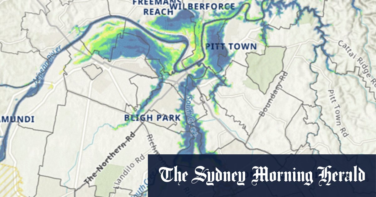 'You will sterilise land from residential use': New powers to refuse floodplain development – The Sydney Morning Herald
