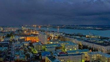 Arkhangelsk, Russia.