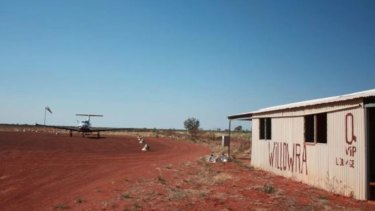Willowra is about 300 kilometres northwest of Alice Springs