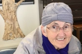 Dot Lanyon, 77, will have to miss out on her weekly lunch with others in her small community.