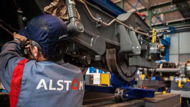 If the new contract is not signed, Alstom says it will close its Ballarat plant.