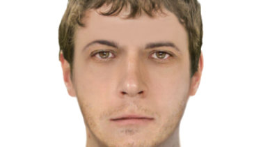 Victoria Police have released a digital image of the man they wish to speak to in relation to the attack.