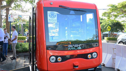 Queensland-first driverless bus trial set to carry RACQ into the future