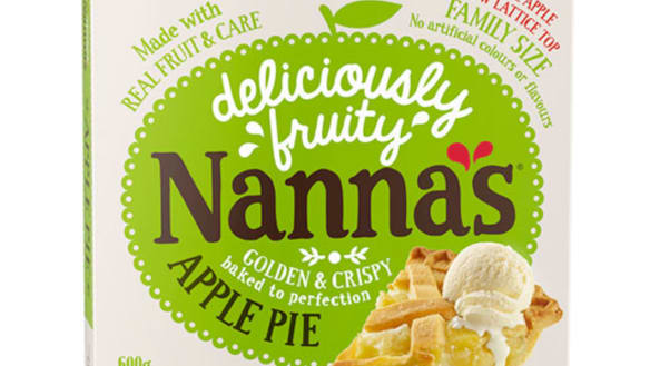 Urgent recall over fears there may be glass in Nanna's Family Apple Pie