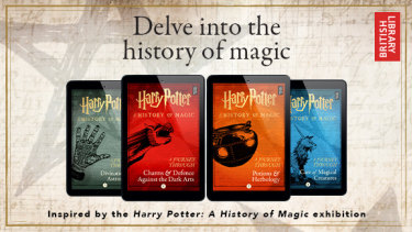 "New Harry Potter books to show fans the ""real history of magic""."