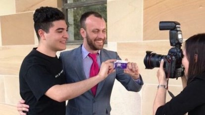 Two Drews use ruse they hope can't lose as UQ voters choose