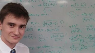Ivan Zelich is graduating UQ a year early as the science valedictorian.