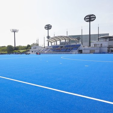 The new Oi Hockey Stadium.